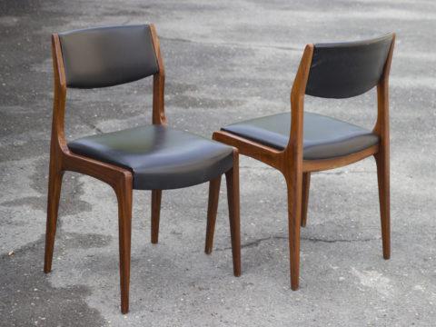 Paire de chaises en teck