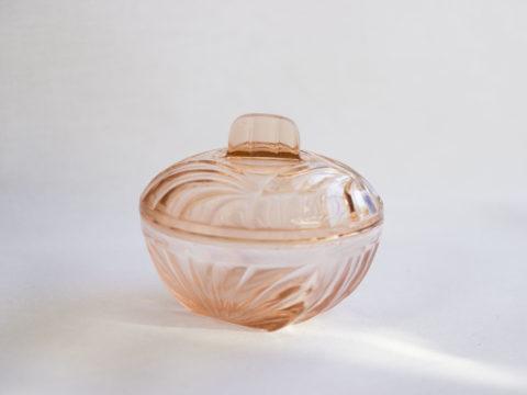 Bonbonnière rose