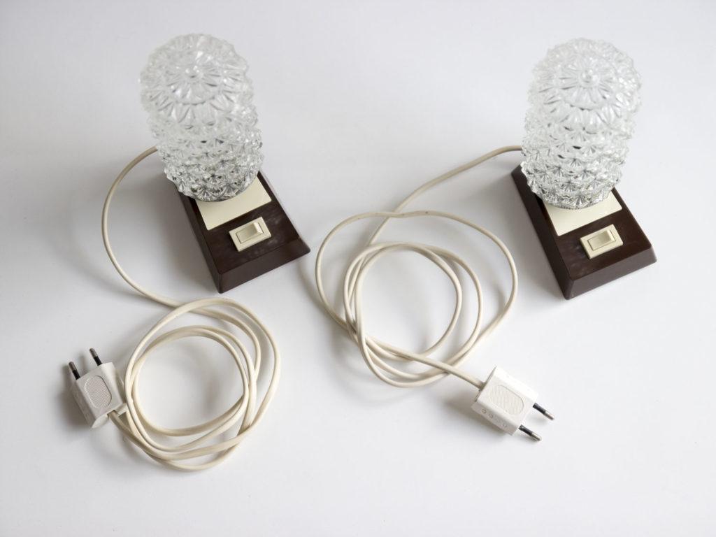 Paire de lampes à poser