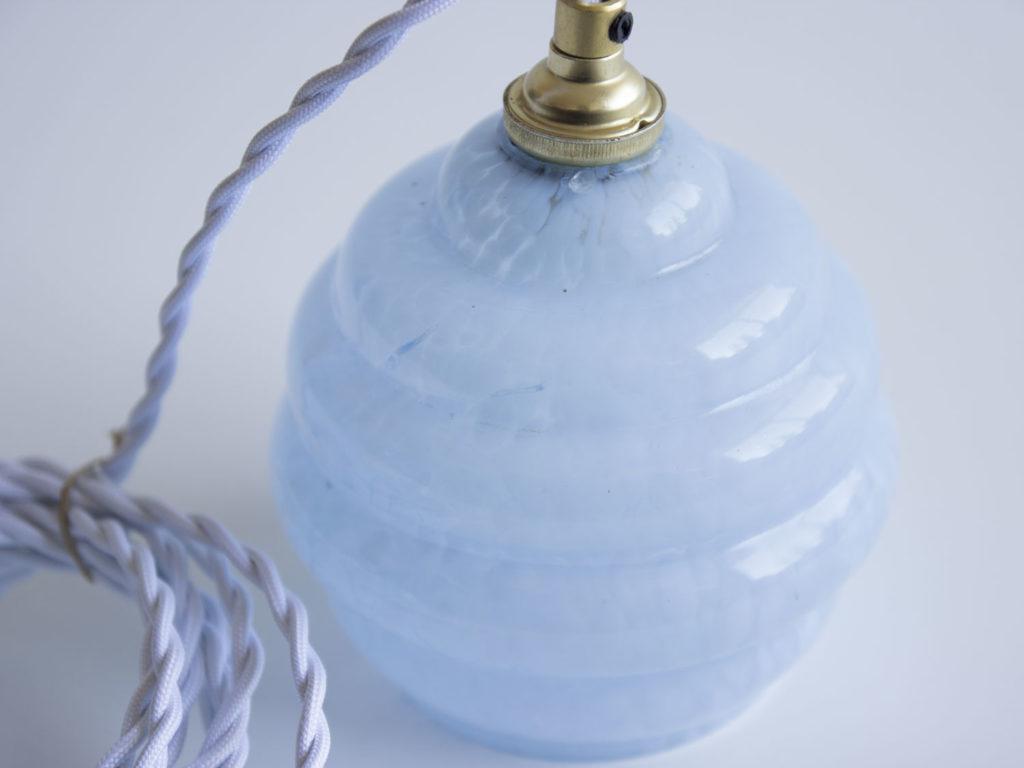 Baladeuse bleue