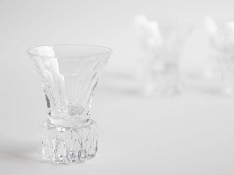 Lot de 9 verres à liqueur