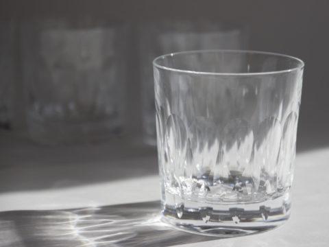 Lot de 6 verres à whisky en cristal