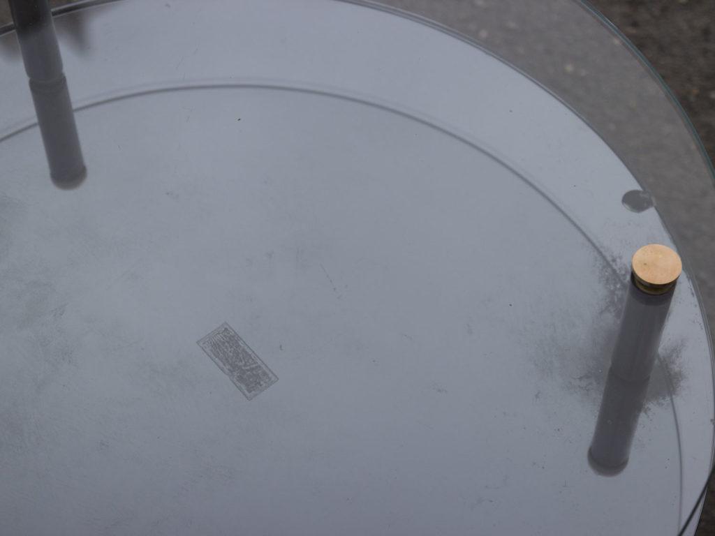 Table basse à double plateaux