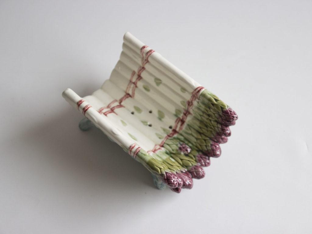 Berceau à asperges en barbotine