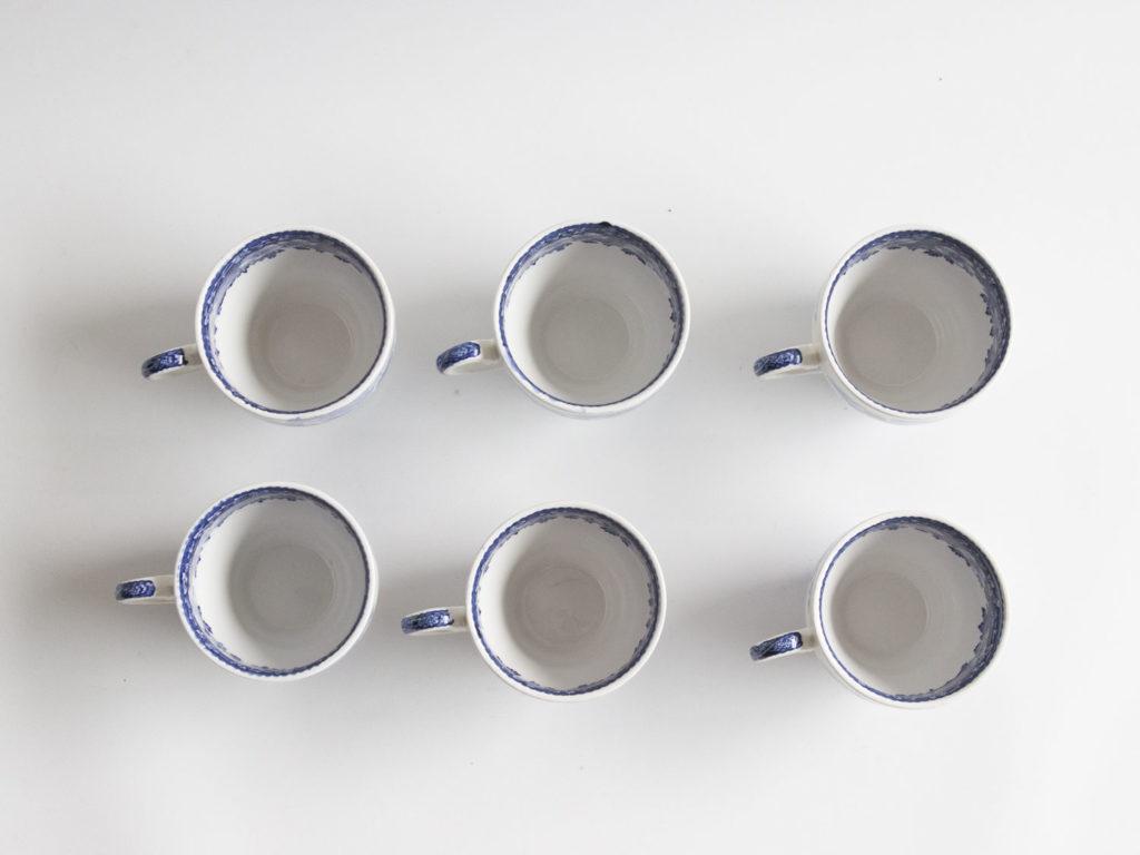 Lot de 6 tasses à espresso