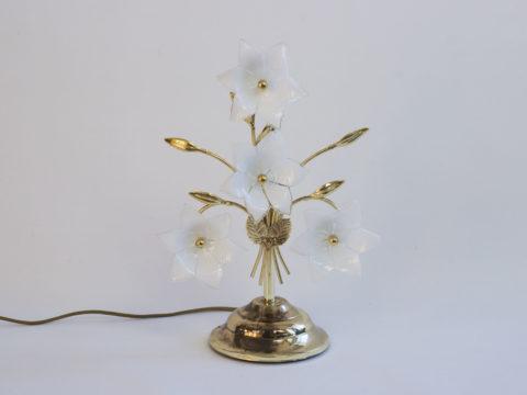 Lampe à fleurs