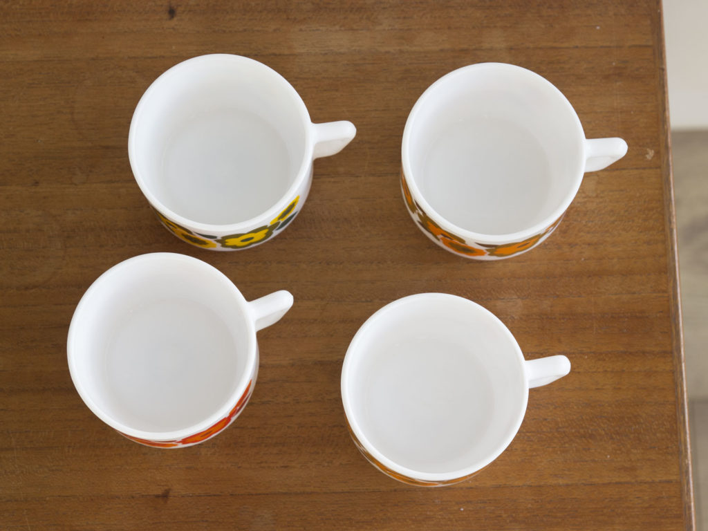 Lot de 4 tasses Arcopal