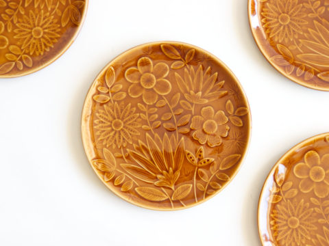 4 assiettes à dessert Sarreguemines